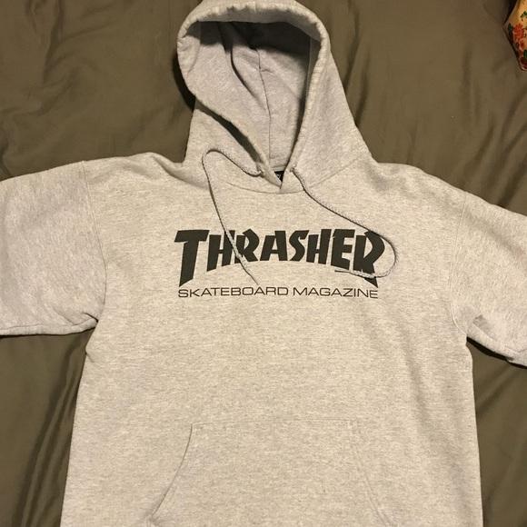 9d17f3b801a9 Thrasher Hoodie Men size Small Heather Gray. M 5a9df4cb2c705dceeb1cbb8f